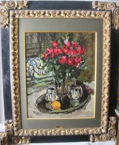 Konstantin A. KOROVIN, Roses and Violets