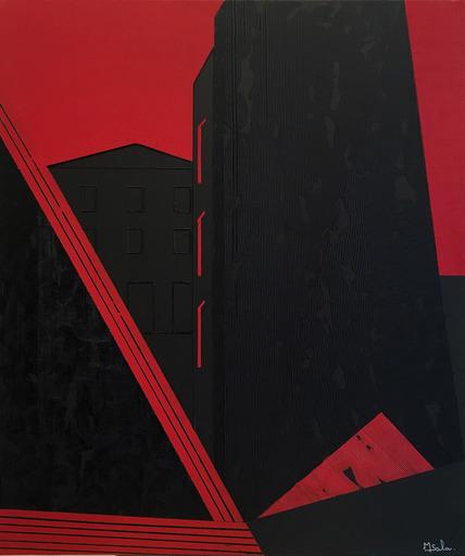 Michèle SALA - Painting - Villa Nova