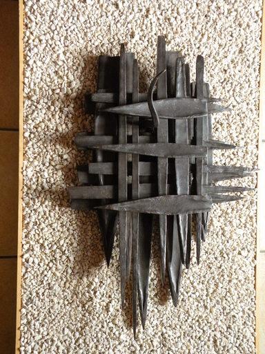 Laurent LARDIN - Sculpture-Volume - Tas Pointes et Queue