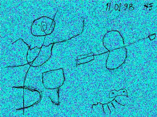 Harry BARTLETT FENNEY - Audiovisual-Multimedia - the archer (digi drawing 1998)