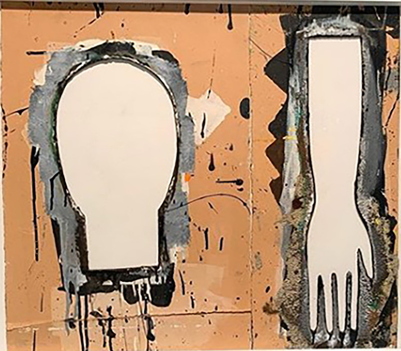 Mimmo PALADINO - Peinture - Senza Titolo