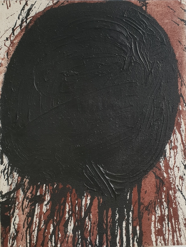 Hermann NITSCH - Painting - no title, split painting