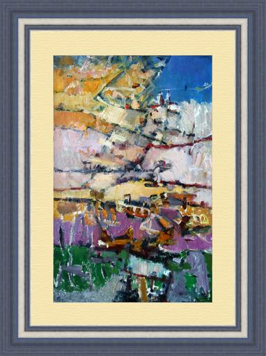 Levan URUSHADZE - Gemälde - Landscape by the sea
