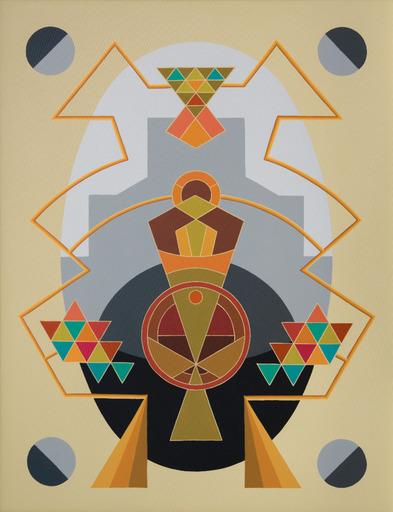Enrique Rodriguez GUZPENA - Painting - Serenidad y agonía