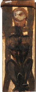 Bruno CECCOBELLI - Painting - Senza titolo