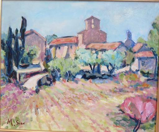 Marie SION - Peinture - LA CHAPELLE