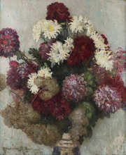 Alexandre ALTMANN - Pintura -  A Bouquet of Asters