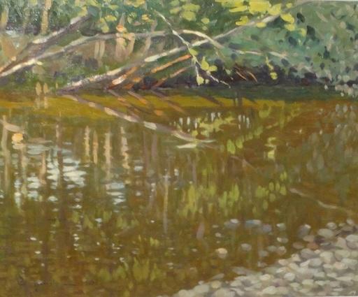 Attilio GUFFANTI - Gemälde - Bord de rivière