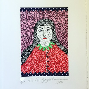 Yayoi KUSAMA - Stampa Multiplo - selfportrait