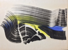 Hans HARTUNG - Pittura - P1970-5