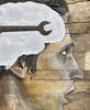 LEVALET - Painting - Matière grise