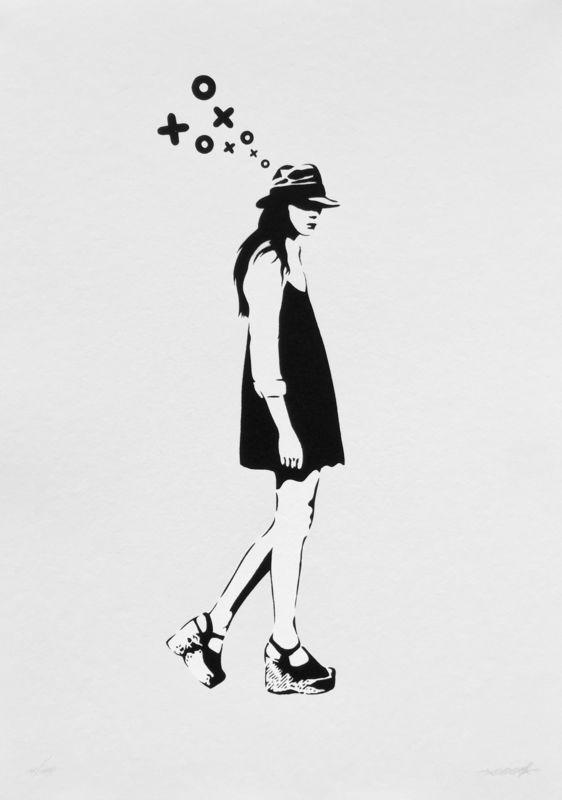 XOOOOX - Stampa-Multiplo - Walking Lady