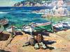 Alberto MUÑOZ - Painting - Calella de Palafrugell