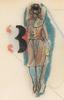 Richard LINDNER - Drawing-Watercolor - Study of three women