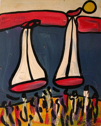 Peter Robert KEIL - Pintura - Am Traunsee