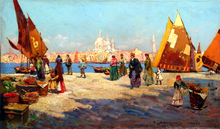Carlo BRANCACCIO - Pintura - Venezia