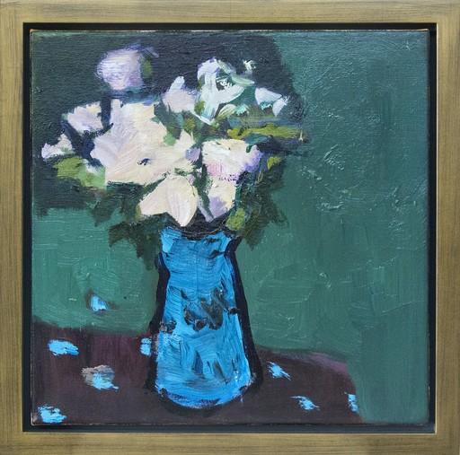 Jennifer HORNYAK - Pintura - Blue with Alizarin Brown