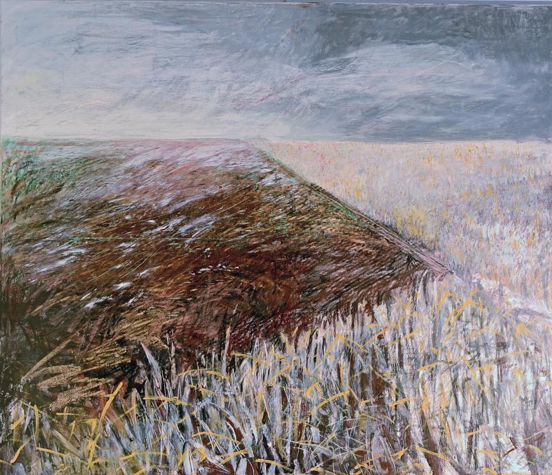 Sibylle DUHM-ARNAUDOV - Painting - GF9 Winterfeld I