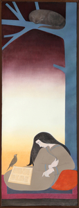 Will R. BARNET - Painting - The Caller