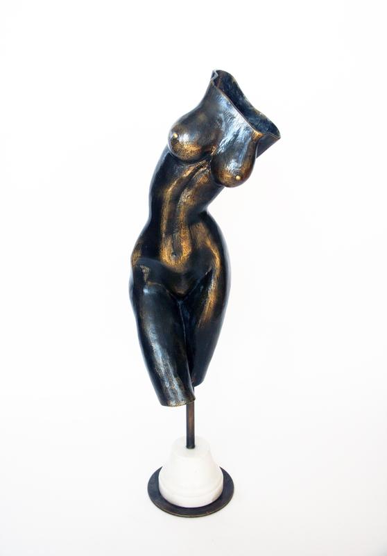 Levan BUJIASHVILI - Sculpture-Volume - Female torso
