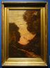 Henri Joseph HARPIGNIES - Gemälde - Chemin au crèpuscule, 1905-1910