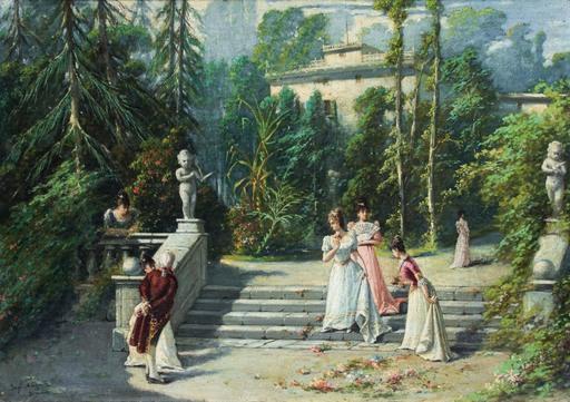 Guglielmo NAPOLI - Gemälde - The betrothed
