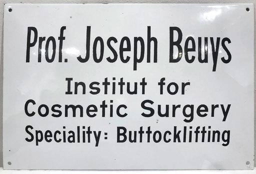 Joseph BEUYS - Escultura - Buttocklifting