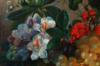 Jan VAN DER WAARDEN - Peinture - Stillleben mit Schmetterlingen, still life butterfly