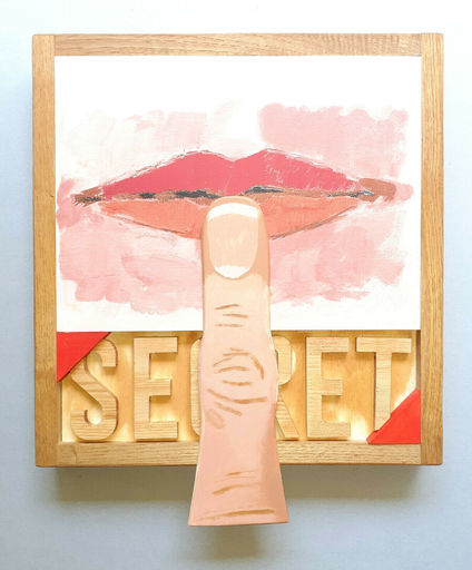 Joe TILSON - Escultura - Secret