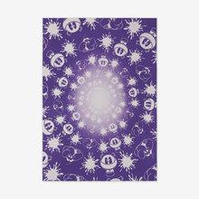 John ARMLEDER - Radierung Multiple - No Stain, No Gain (Purple & White Edition)