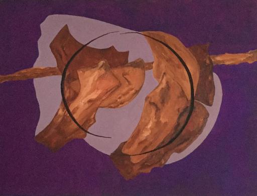 Francis MOREAU - Peinture - Rondeau