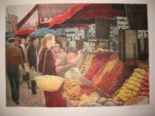 Harold ALTMAN - Grabado - Le marché,1991.