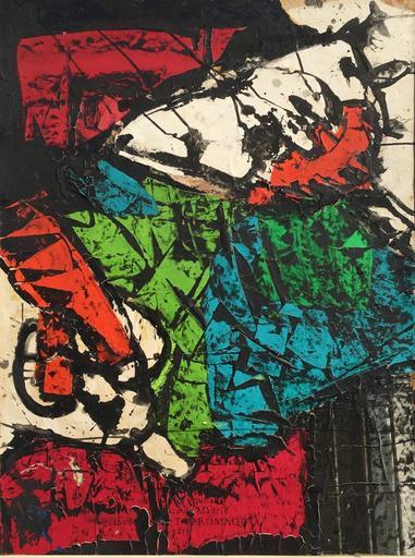 Roberto Gaetano CRIPPA - Gemälde - Senza Titolo