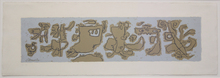 Willi BAUMEISTER - Print-Multiple - Gravour-Fries II