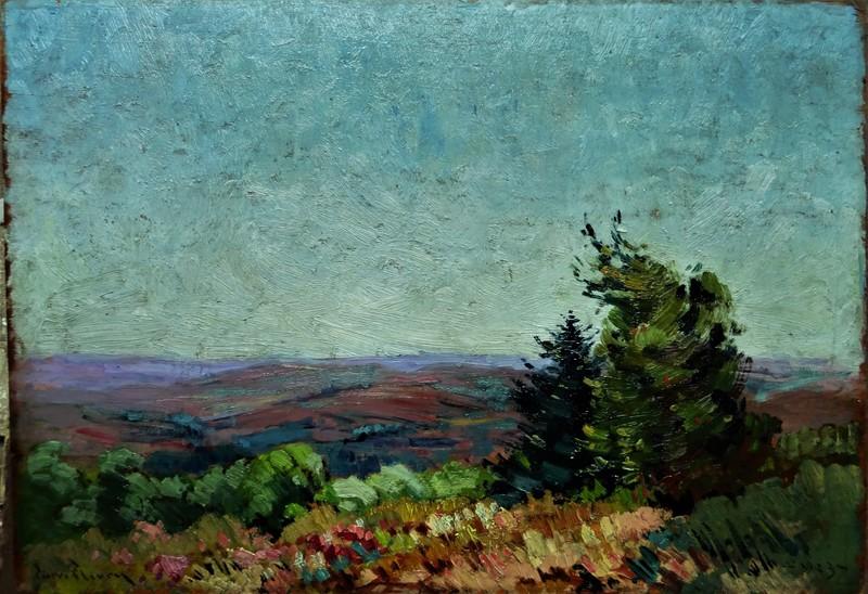 Pierre FLEURY - Painting - Paysage de la Creuse