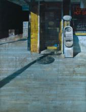 François BARD - Painting - The Corner