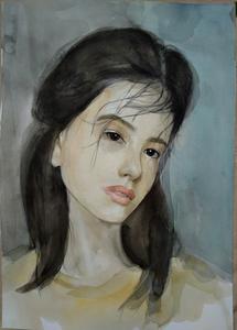 Ohanyan KAMSAR - Disegno Acquarello - Lisa