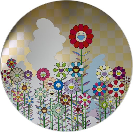Takashi MURAKAMI - Estampe-Multiple - A Memory of Him and Her on a Summer Day