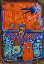 Friedensreich HUNDERTWASSER (1928-2000) - A Little Palace of Illness