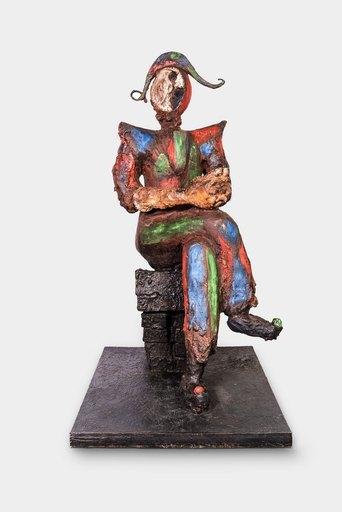 Markus LÜPERTZ - Escultura - Harlekin (Pierrot Lunaire)