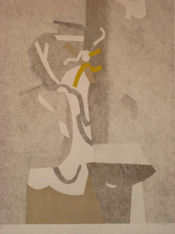 André BEAUDIN - Print-Multiple - LITHOGRAPHIE 1971 SIGNÉE CRAYON NUM/10 HANDSIGNED LITHOGRAPH