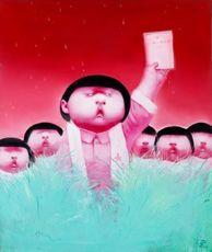 YIN Kun - Painting - Chinese Hero No. 5