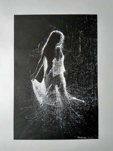 Ohanyan KAMSAR - Disegno Acquarello - Dancing