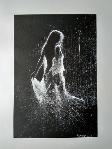 Ohanyan KAMSAR - Dessin-Aquarelle - Dancing