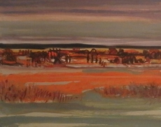 Jean KRILLÉ - Painting - Sommerlandschaft