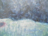 Roger QUILLERY - Peinture - Les sapins dans le vallon.