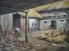 "Alexander PAWLOWITZ - Pittura - ""Peasant Work"" by Alexander Pawlowitz, 1931, Oil Painting"
