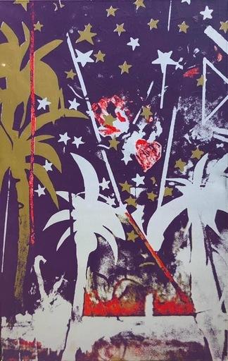 Mario SCHIFANO - Peinture - Palme