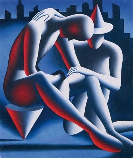 Mark KOSTABI - Pittura - BEYOND THE INFINITE