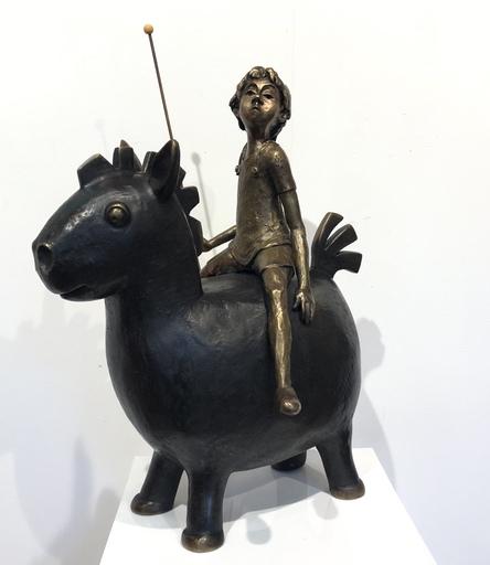 Chantal DE BLOCK - Sculpture-Volume - Tornado